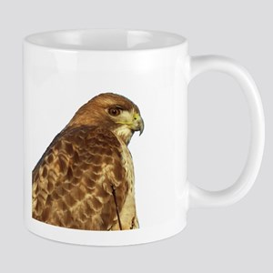 Hawk - white background Mug