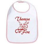 Theresa On Fire Bib