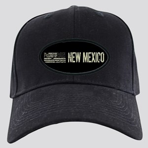 Black Flag: New Mexico Black Cap with Patch