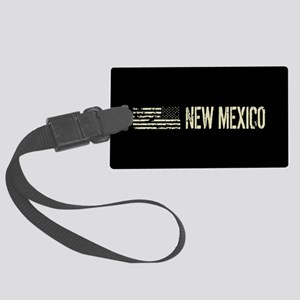 Black Flag: New Mexico Large Luggage Tag
