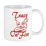Tracy On Fire Mug