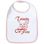 Trinity On Fire Bib
