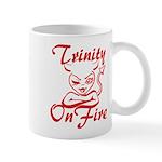 Trinity On Fire Mug