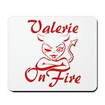 Valerie On Fire Mousepad