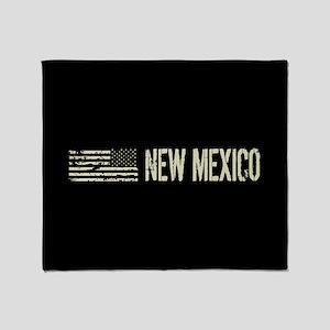 Black Flag: New Mexico Throw Blanket