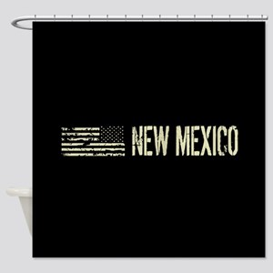 Black Flag: New Mexico Shower Curtain