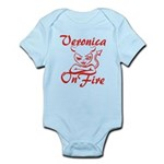 Veronica On Fire Infant Bodysuit