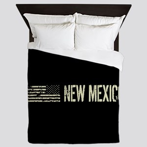 Black Flag: New Mexico Queen Duvet