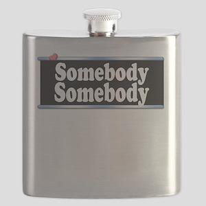 Custom Identity 2 line Flask