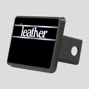 Leather Rectangular Hitch Cover