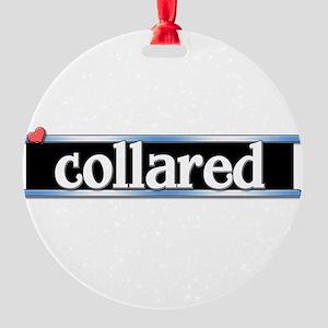 Collared Round Ornament