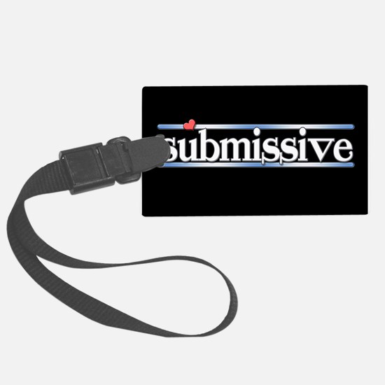 submissive Luggage Tag