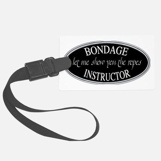 Bondage Instructor Luggage Tag