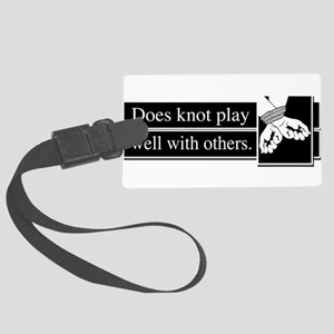 Knot Play Large Luggage Tag