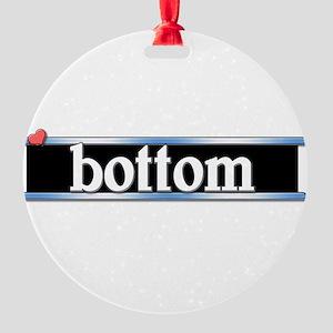 bottom copy Round Ornament