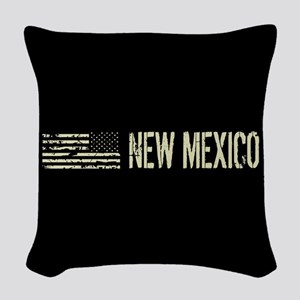 Black Flag: New Mexico Woven Throw Pillow