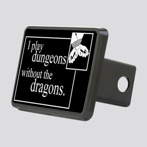 Dungeons Without Dragons Rectangular Hitch Cover