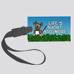 Wag More Large Luggage Tag