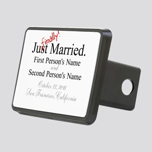 Finally Married Rectangular Hitch Cover