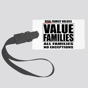 Value Families Large Luggage Tag