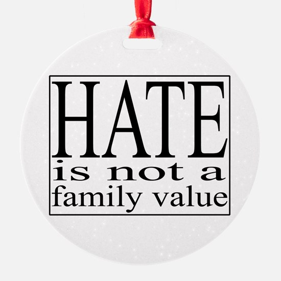 Hate Ornament