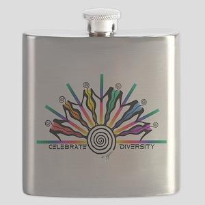 Celebrate Diversity Flask