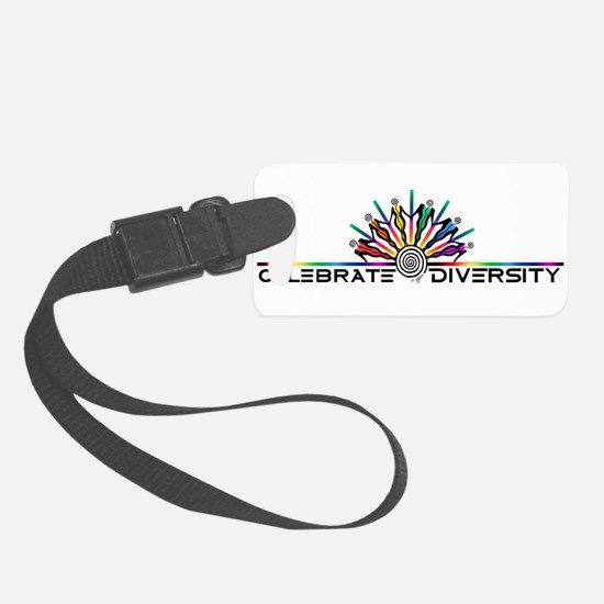 Celebrate Diversity Luggage Tag