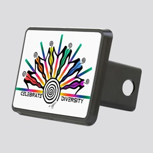Celebrate Diversity Rectangular Hitch Cover