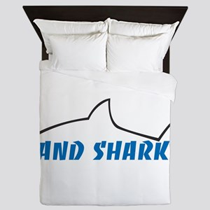 Land Shark Queen Duvet