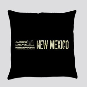 Black Flag: New Mexico Everyday Pillow