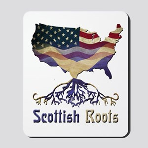 American Scottish Roots Mousepad