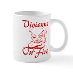 Vivienne On Fire Mug