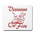 Vivienne On Fire Mousepad