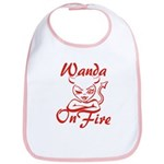 Wanda On Fire Bib