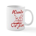 Wanda On Fire Mug