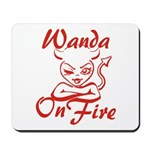 Wanda On Fire Mousepad