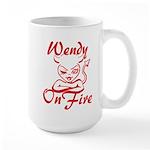 Wendy On Fire Large Mug