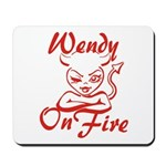 Wendy On Fire Mousepad