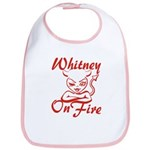 Whitney On Fire Bib