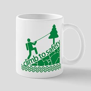 Don't Panic Climb to Safety Mug