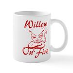 Willow On Fire Mug
