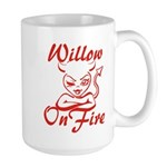 Willow On Fire Large Mug