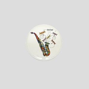 Wild Saxophone Mini Button