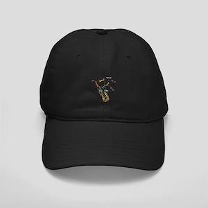 Wild Saxophone Black Cap
