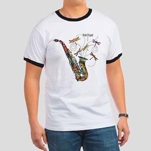 Wild Saxophone Ringer T