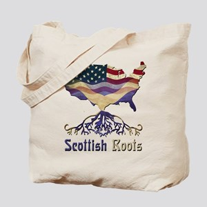 American Scottish Roots Tote Bag