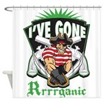 Organic Pirate Shower Curtain