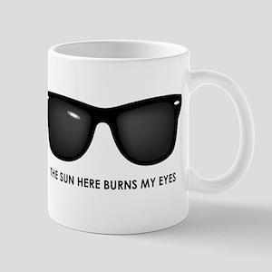 The Sun Here Burns my Eyes Mug