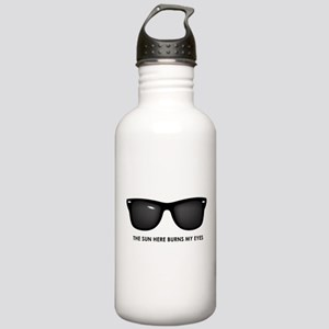 The Sun Here Burns my Eyes Stainless Water Bottle