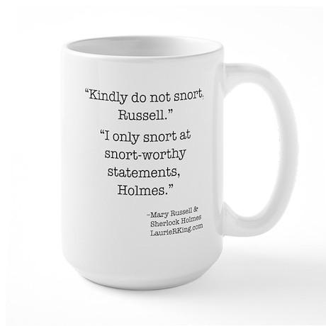 Snort-worthy Large Mug